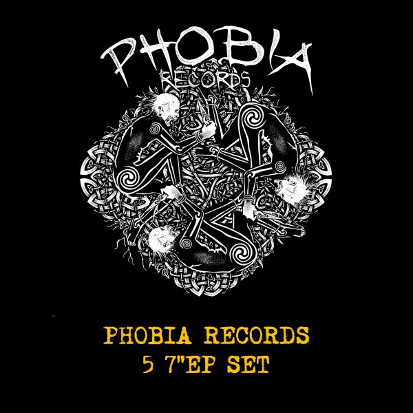 PHOBIA RECORDS - 5 x 7EP SET""