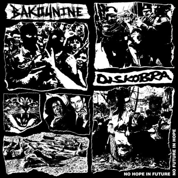 BAKOUNINE / DISKOBRA split LP