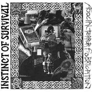 ASOCIAL TERROR FABRICATION / INSTINCT OF SURVIVAL split LP