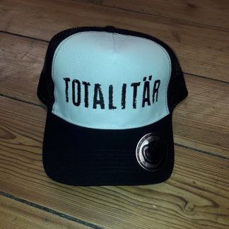 TOTALITÄR - trucker - white / black