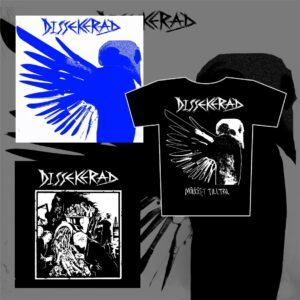 "DISSEKERAD - Mörkret Tilltar LP & IV 7EP & triko bundle / set"""