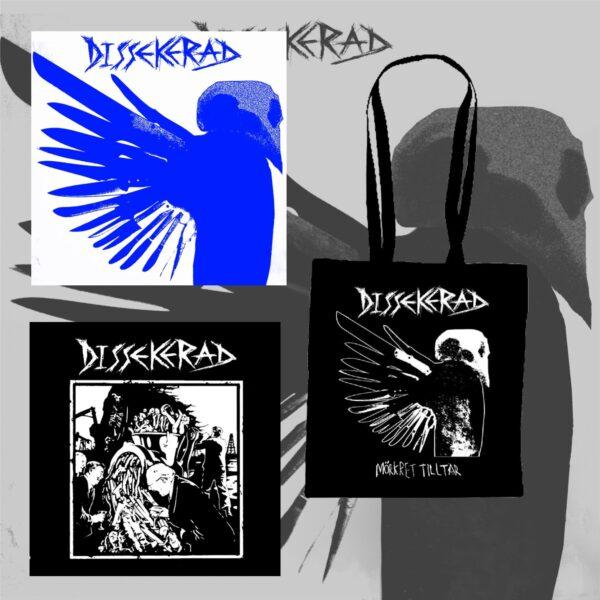 "DISSEKERAD - Mörkret Tilltar LP & IV 7EP & taška bundle / set"""