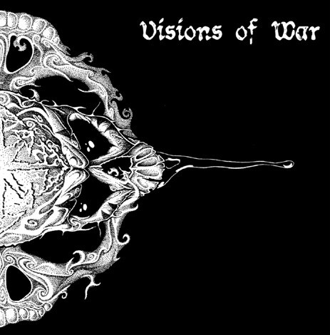 VISIONS OF WAR / COP ON FIRE split LP