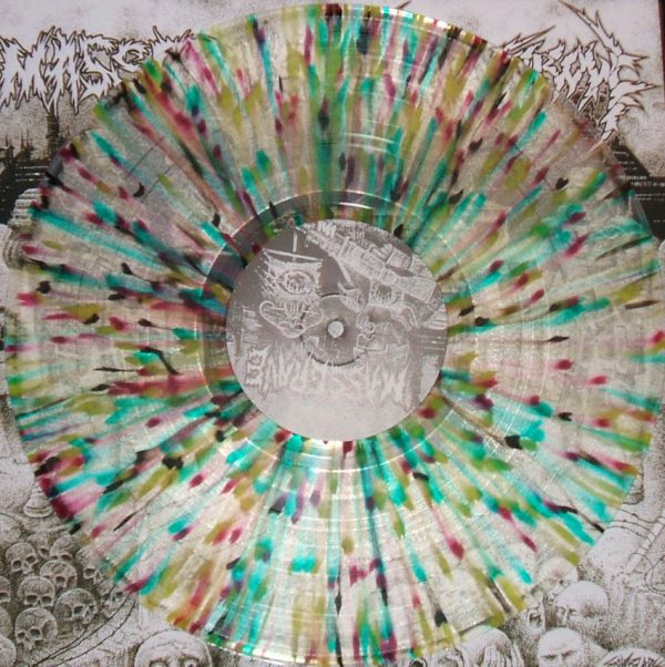 MASSGRAVE / STORMCROW split LP (LTD EDITION)
