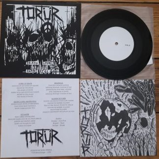 PR 166 TORTÜR - Death Looms Graves Fill EP (testpress)