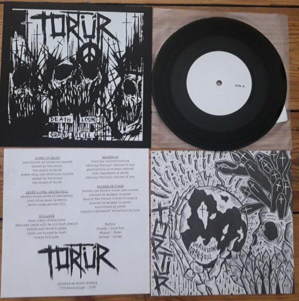 PR 166 TORTÜR - Death Looms Graves Fill EP (testpress)