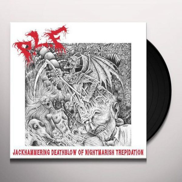 P.L.F. - Jackhammering Deathblow of Nightmarish Trepidation LP