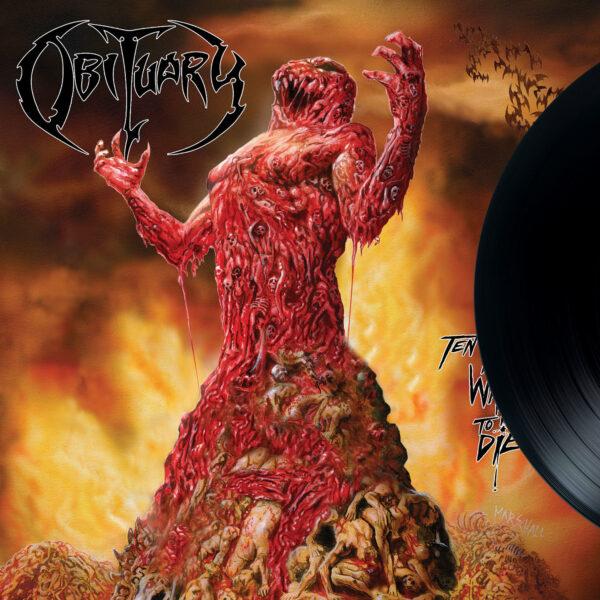 OBITUARY - Ten Thousand Ways To Die LP