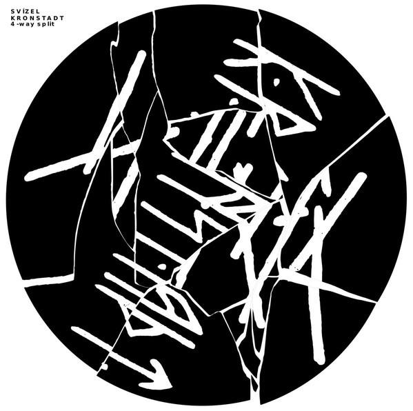 BLACK ASPIRIN / LEZOK / SVÍZEL / KRONSTADT - 4 way split LP