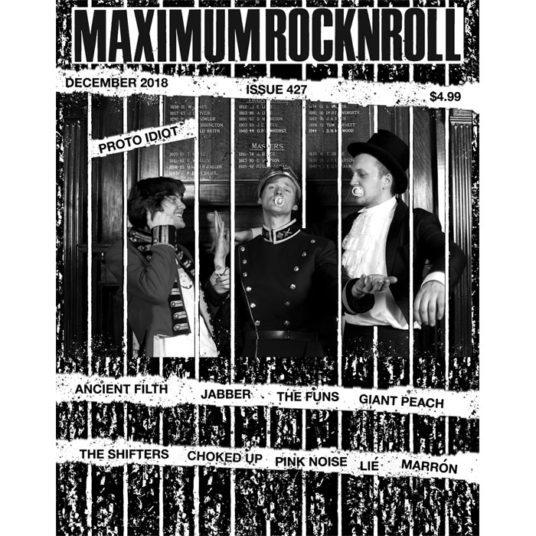 MAXIMUM ROCKNROLL #427