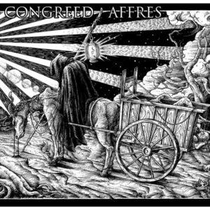 CONGREED / AFFRES split LP