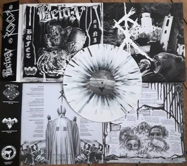 PR 160 BETON / ROXOR split LP (limitovaná edice)