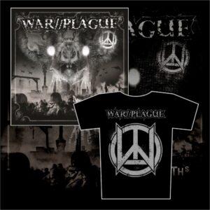 WAR//PLAGUE - Into The Depths LP + triko / t-shirt