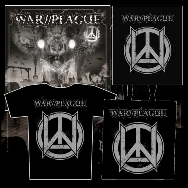 WAR//PLAGUE - Into The Dephts LP + zádovka + taška + triko