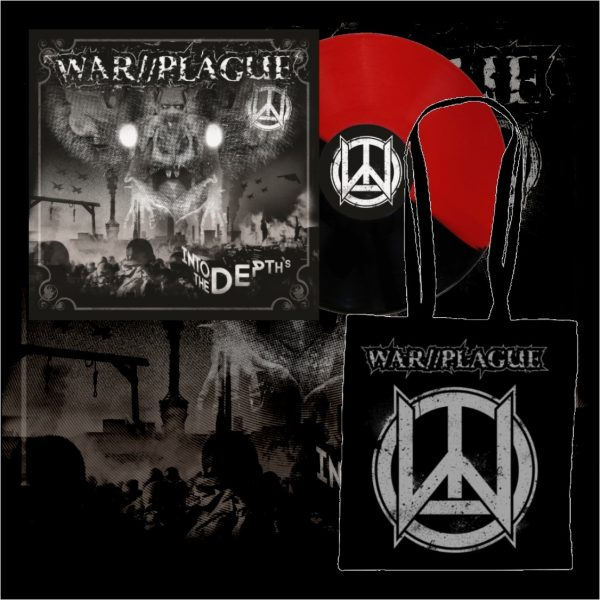 WAR//PLAGUE - Into The Depths LP (limit) + taška / vinyl bag
