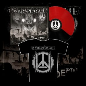 WAR//PLAGUE - Into The Depths LP (limit) + triko / t-shirt