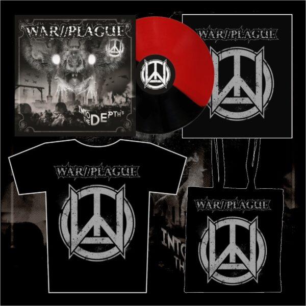 WAR//PLAGUE - Into The Depths LP (limit) + triko + taška + zádovka