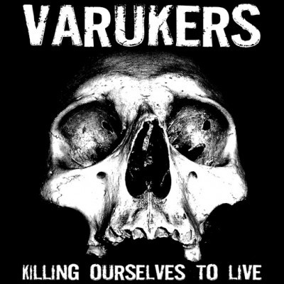 VARUKERS / SICK ON THE BUS split LP