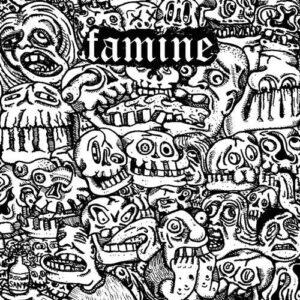 SATANIC MALFUNCTIONS / FAMINE split EP
