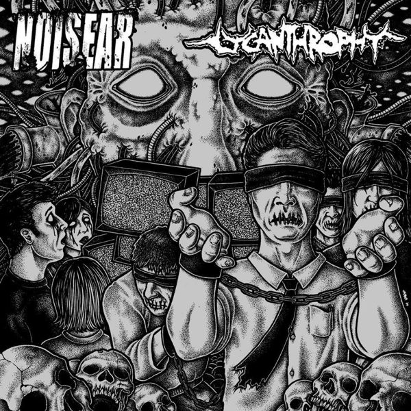 NOISEAR / LYCANTHROPHY split EP