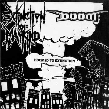 DOOM / EXTINCTION OF MANKIND split EP