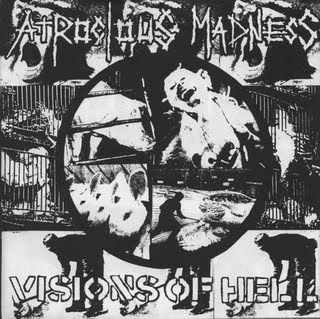 ATROCIOUS MADNESS - Visions Of Hell EP