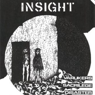 NEGATIVE INSIGHT #1 + VARUKERS - Blood Money EP