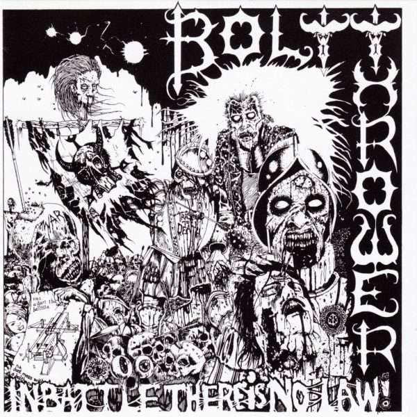 BOLT THROWER – In Battle There Is No Law LP