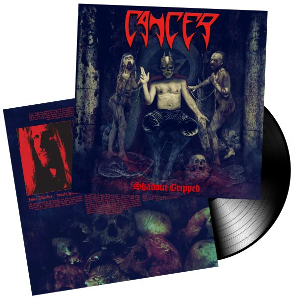 CANCER – Shadow Gripped LP