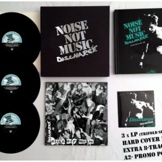 DISCHARGE – Noise Not Music BOXSET (3x LP, 1x EP, book)