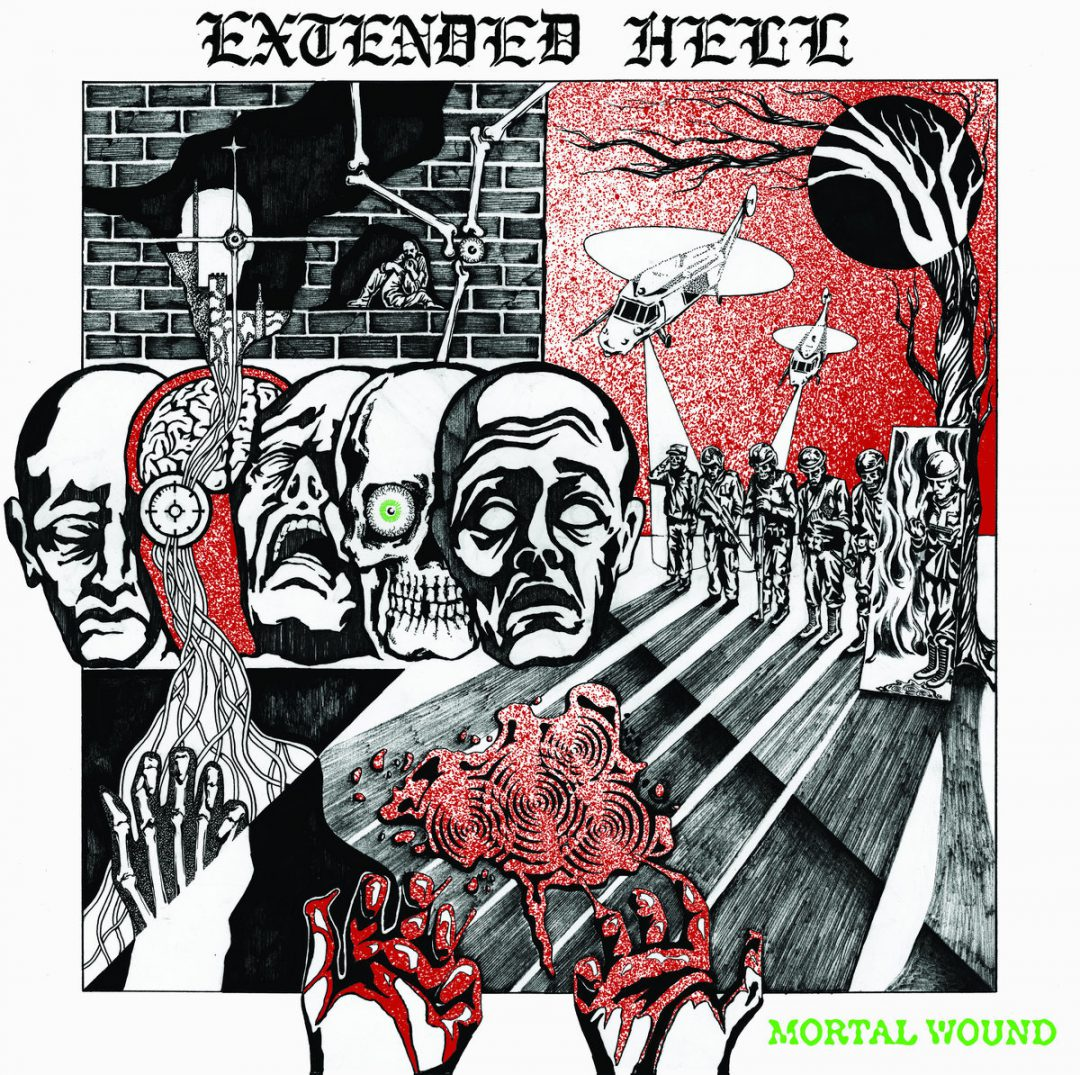 EXTENDED HELL – Mortal Wound LP