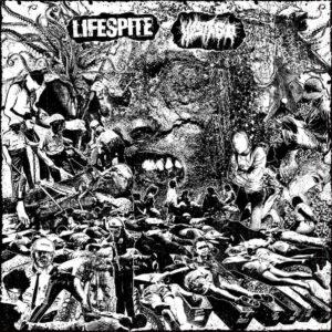 LIFESPITE / HOSTAGE split LP