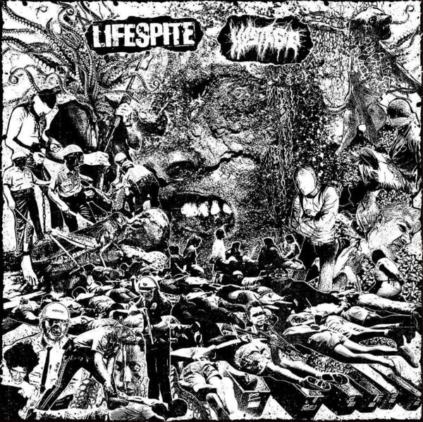 LIFESPITE / HOSTAGE split LP