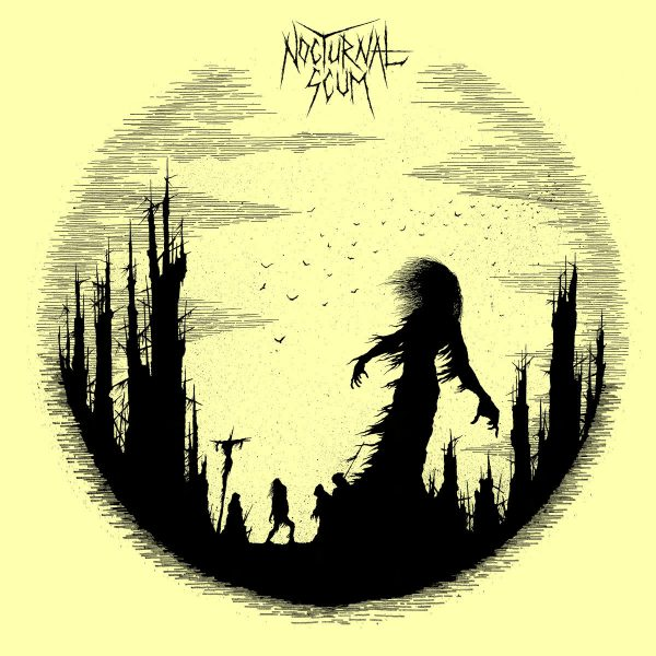 NOCTURNAL SCUM – s/t LP