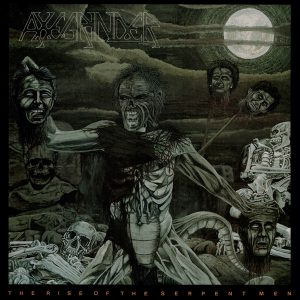 AXEGRINDER – The Rise Of The Serpent Men LP