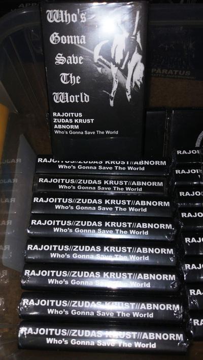 RAJOITUS / ZUDAS KRUST / ABNORMI – 3 way split CASS