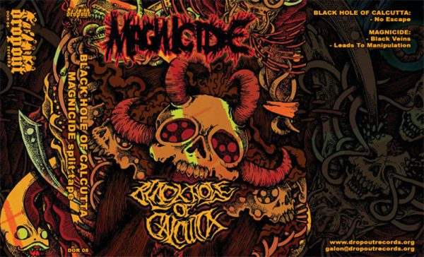 MAGNICIDE / BLACK HOLE OF CALCUTTA split EP