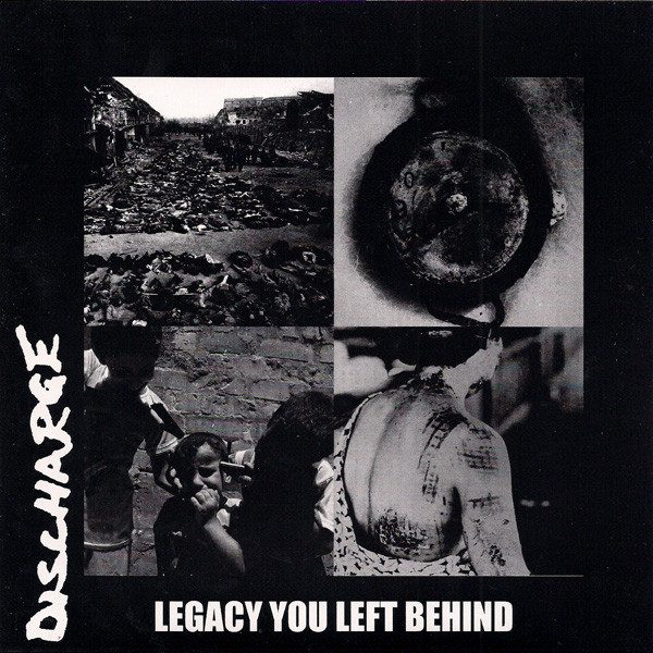 DISCHARGE / OFF WITH THEIR HEADS split EP