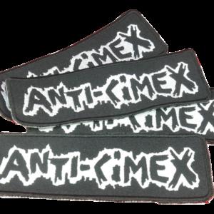 ANTI-CIMEX – vyšívaná nášivka / embroidered patch