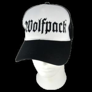 WOLFPACK – logo výšivka / embroidered logo – trucker