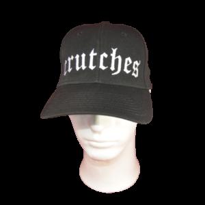 CRUTCHES – logo výšivka / embroidered logo