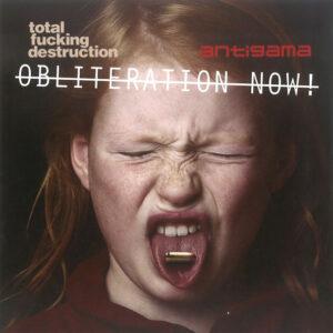 TOTAL FUCKING DESTRUCTION / ANTIGAMA split 7″EP