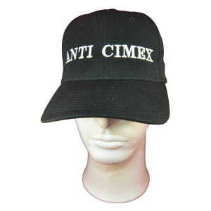 ANTI CIMEX – logo výšivka / embroidered logo (02)