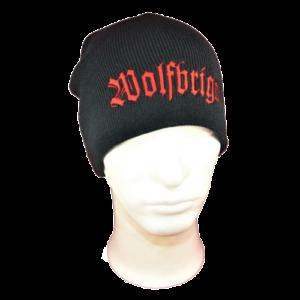WOLFBRIGADE – kulich / beanie (red logo)