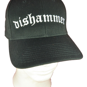 DISHAMMER – logo výšivka / embroidered logo
