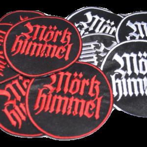 MÖRKHIMMEL – vyšívaná nášivka / embroidered patch