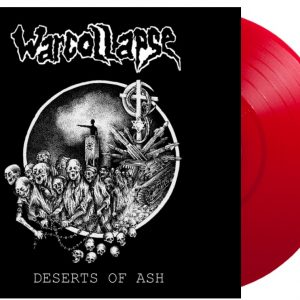 PR 172 WARCOLLAPSE – Deserts Of Ash LP (2020 repress – limited edition)