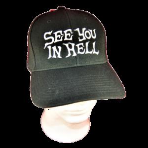 SEE YOU IN HELL – logo výšivka / embroidered logo