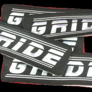 GRIDE – vyšívaná nášivka / embroidered patch