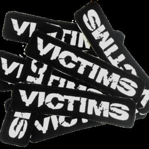 VICTIMS – vyšívaná nášivka / embroidered patch
